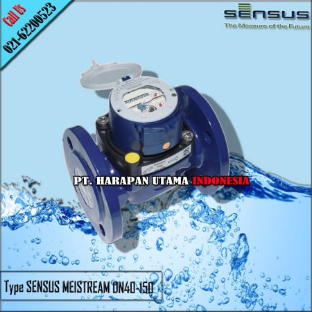 Jual Meteran Air Sensus Meistream Size 1 1/2 Inch (DN40mm) PN40 MeiStream Bulkmeter for cold potable water DN 40…150 PN 40